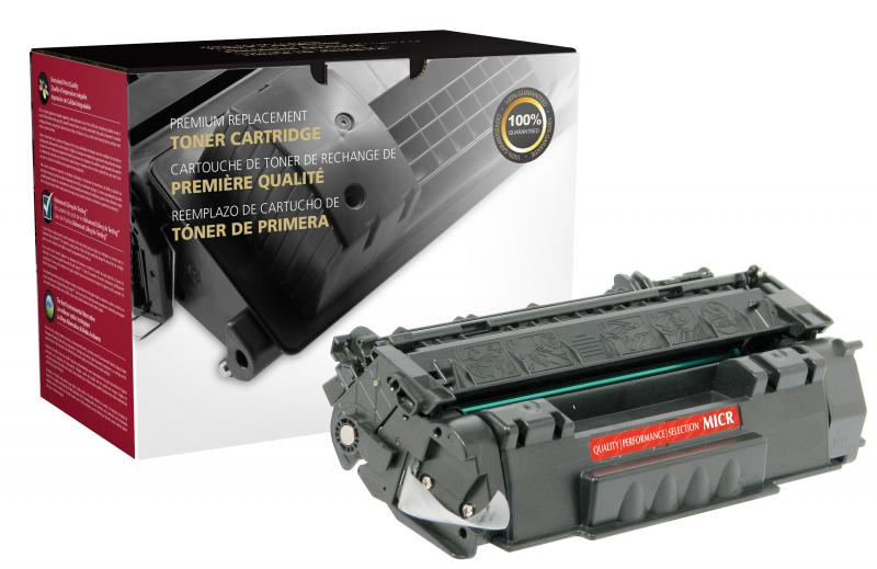 CIG Remanufactured MICR Toner Cartridge for HP Q7553A (HP 53A), TROY 02-81212-001