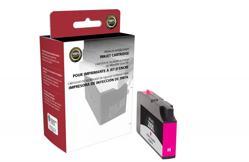 CIG Remanufactured High Yield Magenta Ink Cartridge for Lexmark #200XL