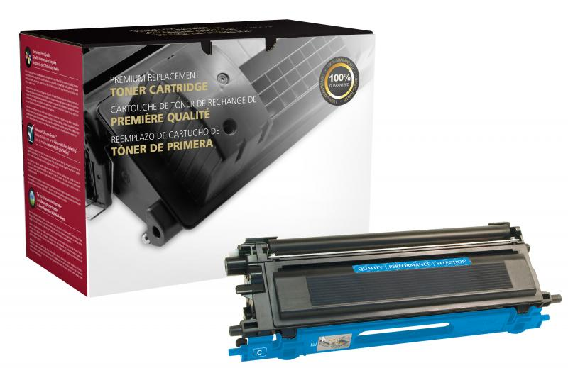 CIG Remanufactured High Yield Cyan Toner Cartridge for Brother TN115