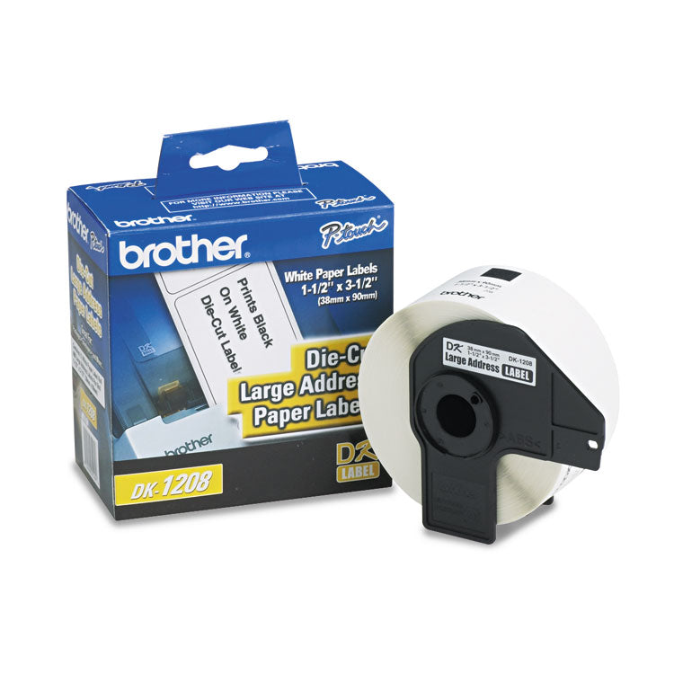 Brother 3.5 x 1.5 Address Label