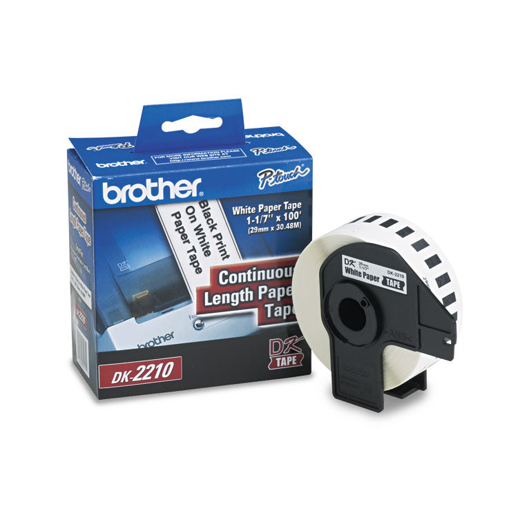 Brother 1-1/7in x 100ft Continuous Label