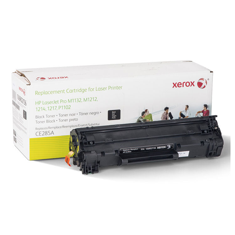 106R02156 Replacement Toner for CE285A (85A), 1700 Page Yield, Black