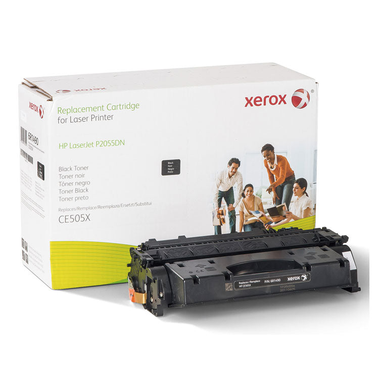 006R01490 Replacement High-Yield Toner for CE505X (05X), Black