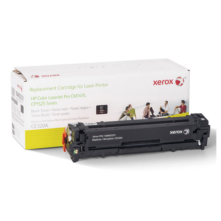 106R02221 Replacement Toner for CE320A (128A), Black