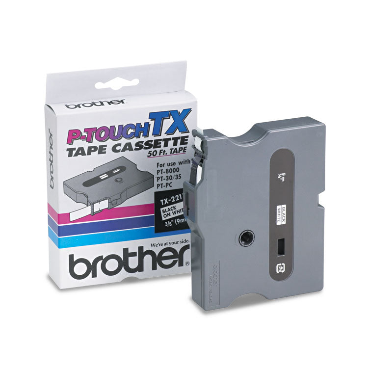 Brother TX2211 Tape Cartridge, Brother TX-2211
