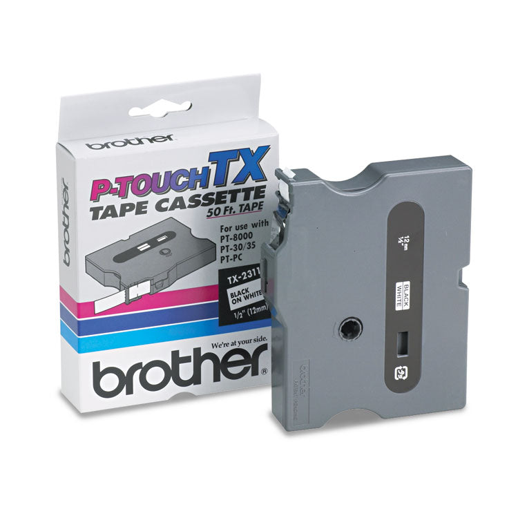Brother TX2311 Tape Cartridge, Brother TX-2311