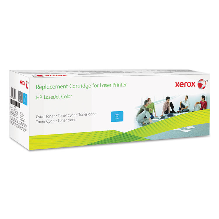 006R03253 Remanufactured CF381A (312A) Toner, 2800 Page-Yield, Cyan