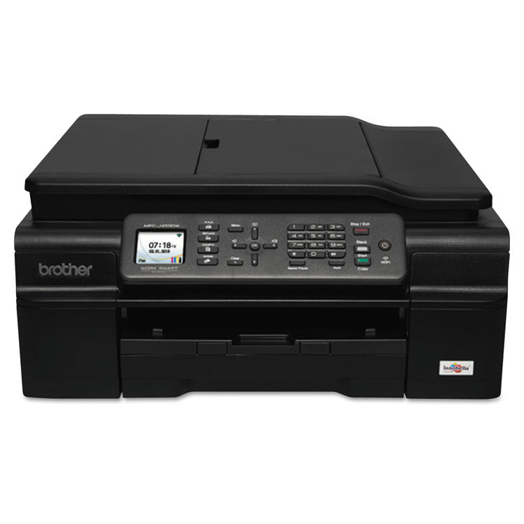 Brother Work Smart MFC-J460DW Color Inkjet All-in-One, Copy/Fax/Print/Scan, Brother MFC-J460DW