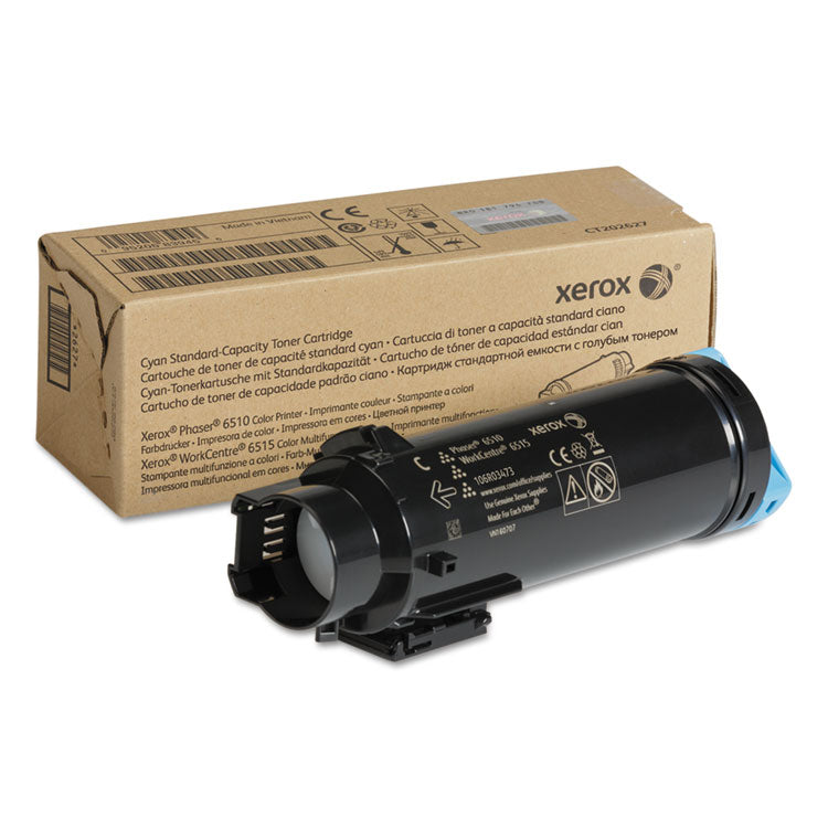 106R03473 Toner, 1000 Page-Yield, Cyan