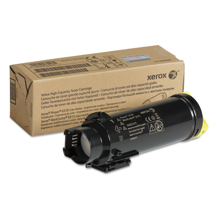 106R03479 High-Yield Toner, 2400 Page-Yield, Yellow