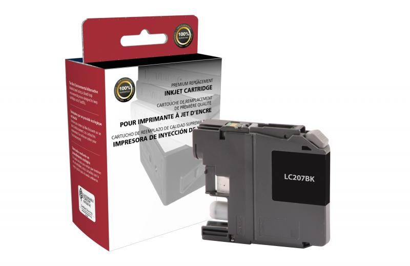CIG Remanufactured Brother LC207XXL Black Super High  Yield Ink Cartridge