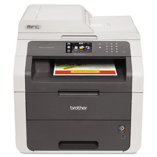 Brother® MFC9130CW MFC-9130CW All-in-One Laser Printer, Copy/Fax/Print/Scan