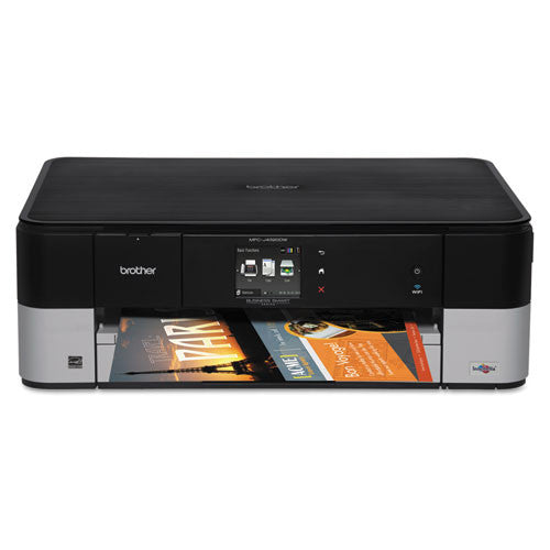 Brother® MFCJ4320DW MFC-J4320dw Multifunction Inkjet Printer, Copy/Fax/Print/Scan