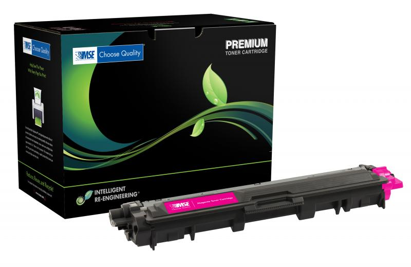 MSE Remanufactured High Yield Magenta Toner Cartridge for Brother TN225