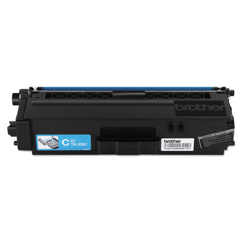 Brother® TN336C TN336C High-Yield Toner, Cyan