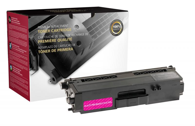 CIG Remanufactured High Yield Magenta Toner Cartridge for Brother TN336