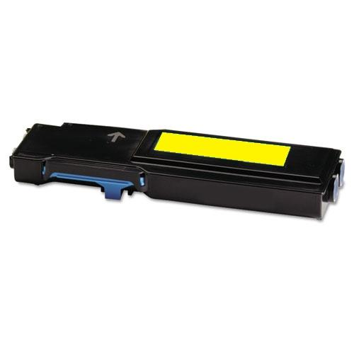 Premium Compatible Xerox 106R02227 Yellow, Standard Yield Toner Cartridge - Fits Printers: Phaser 6600, Yellow High-Capacity