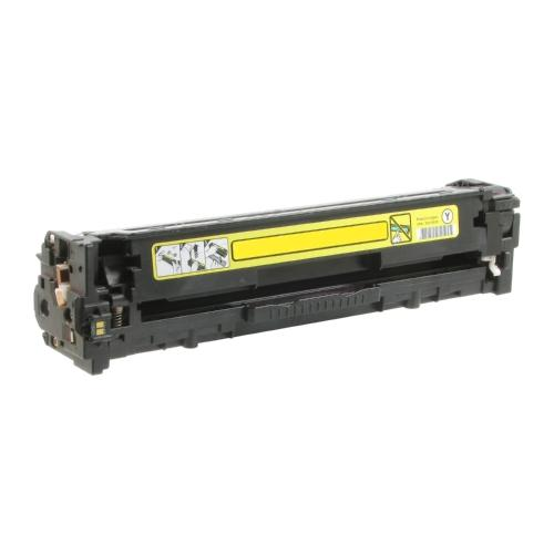 Premium Compatible HP 131A Remanufactured Yellow, Standard Yield Toner Cartridge, Compatible HP CF212A - Fits Printers: ImageClass MF8280Cw/LBP-7110cw, Yellow