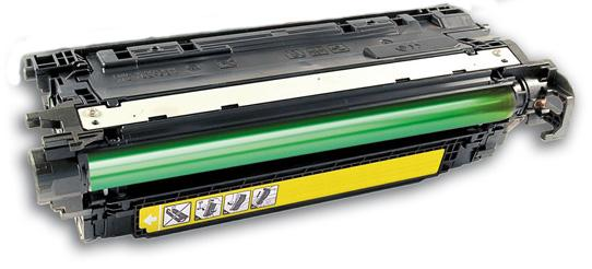 Premium Compatible HP 653A Remanufactured Yellow, Standard Yield Toner Cartridge, Compatible HP CF322A - Fits Printers: Color LJ M680DN/M680F/M680Z, Yellow