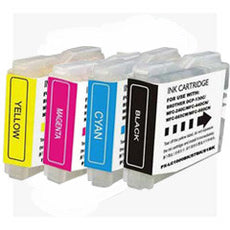 Compatible Brother LC-51 4 Color, Multi Pack Ink Cartridge