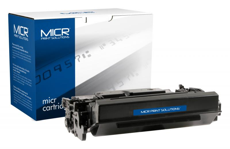 MICR Print Solutions Genuine-New High Yield MICR Toner Cartridge for HP CF287X (HP 87X)