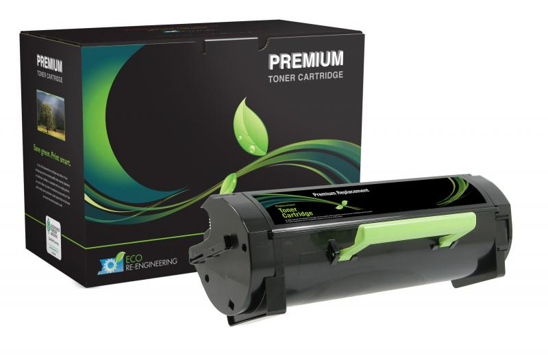 MSE Remanufactured Toner Cartridge for Lexmark MS317/MS417/MX317/MX417