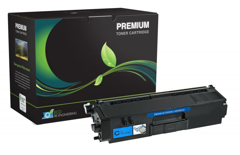 MSE Remanufactured High Yield Cyan Toner Cartridge for Brother TN315