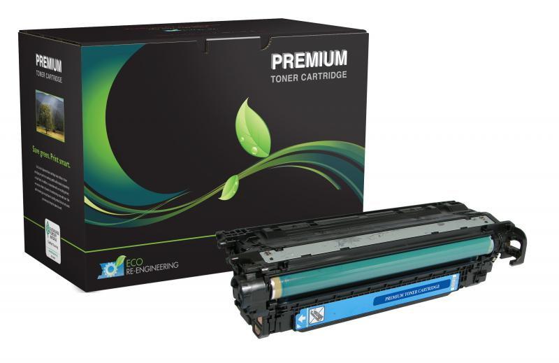 MSE Remanufactured Cyan Toner Cartridge for HP CE401A (HP 507A)