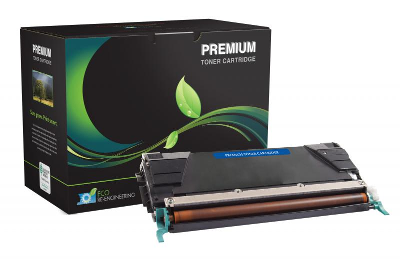 MSE Remanufactured Lexmark C736/X736/X738 High Yield Black Toner Cartridge