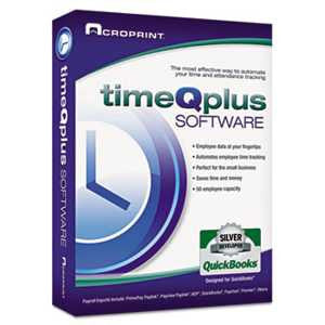 Acroprint 010262000 timeQplus Network Software