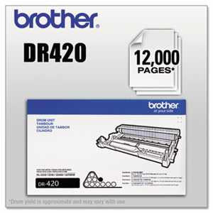 Brother DR420 DR420 Drum Unit, Black