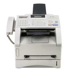 Brother FAX4100E intelliFAX-4100e Business-Class Laser Fax Machine, Copy/Fax/Print