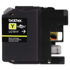 Brother LC101Y LC101Y Innobella Ink, Yellow