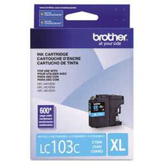 Brother LC103C LC103C Innobella High-Yield Ink, Cyan