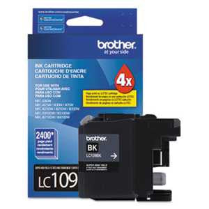 Brother LC109BK LC109BK Innobella Super High-Yield Ink, Black