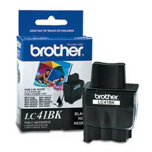 Brother LC41BK LC41BK Ink, Black
