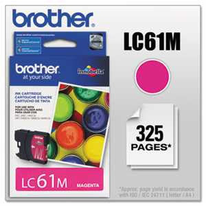 Brother LC61M LC61M Innobella Ink, Magenta
