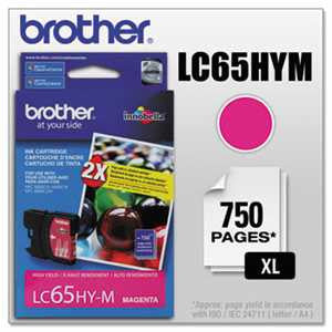 Brother LC65HYM LC65HYM Innobella High-Yield Ink, Magenta