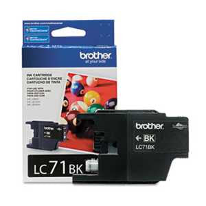 Brother LC71BK LC71BK Innobella Ink, Black