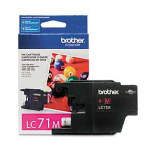 Brother LC71M LC71M Innobella Ink, Magenta