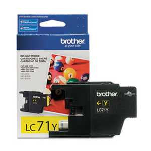 Brother LC71Y LC71Y Innobella Ink, Yellow