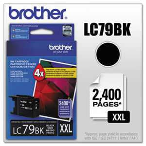 Brother LC79BK LC79BK Innobella Super High-Yield Ink, Black