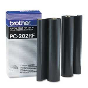 Brother PC202RF PC202RF Thermal Transfer Refill Rolls, Black, 2/PK