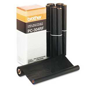 Brother PC304RF PC304RF Thermal Transfer Refill Rolls, 4/BX