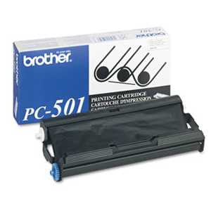 Brother PC501 PC501 Thermal Transfer Print Cartridge, Black