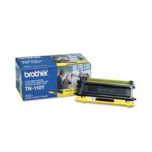 Brother TN110Y TN110Y Toner, Yellow