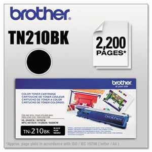 Brother TN210BK TN210BK Toner, Black