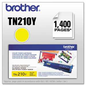 Brother TN210Y TN210Y Toner, Yellow