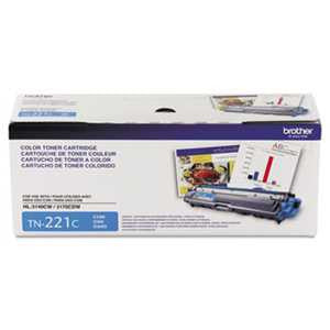 Brother TN221C TN221C Toner, Cyan