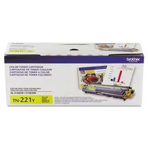Brother TN221Y TN221Y Toner, Yellow